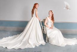 Brudekjole foto taget til magasinet Bruden.