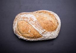 madfotografering brød set oppefra