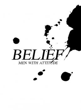 Belief splatter tekst