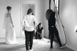 Bryllupskjole fotografering med Vibeke Johansson