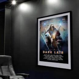 Darklair biograf med poster af Vibeke Johansson